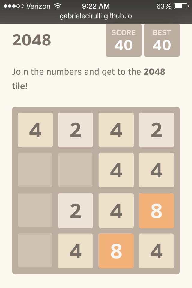 how to beat 2048 tile game