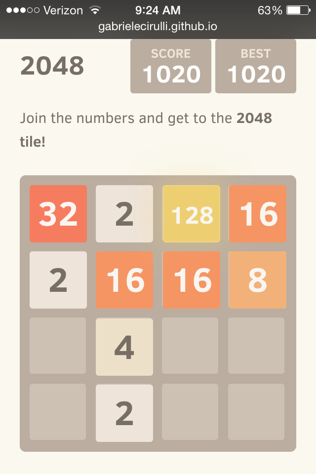 how to beat 2048 puzzle