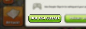 how to get a lost clash of clans village back
