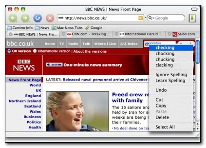 camina browser for mac