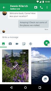 Hangouts Screenshot