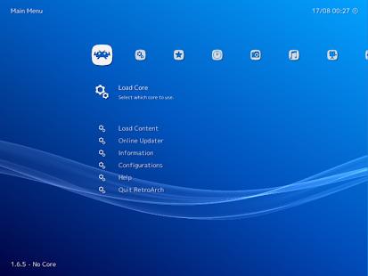 RetroArch Screenshot