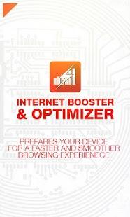 Internet Booster & Optimizer Screenshot