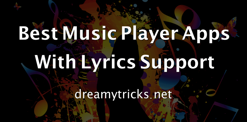best music player apps with lyrics support
