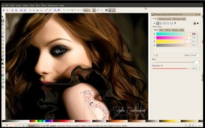 inkspace graphic designing software