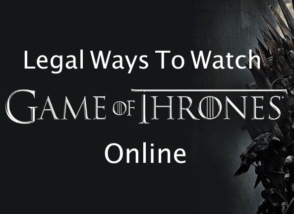 legal ways to watch game of thrones online