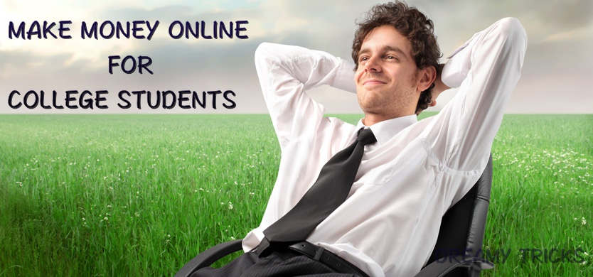 make money online for college students