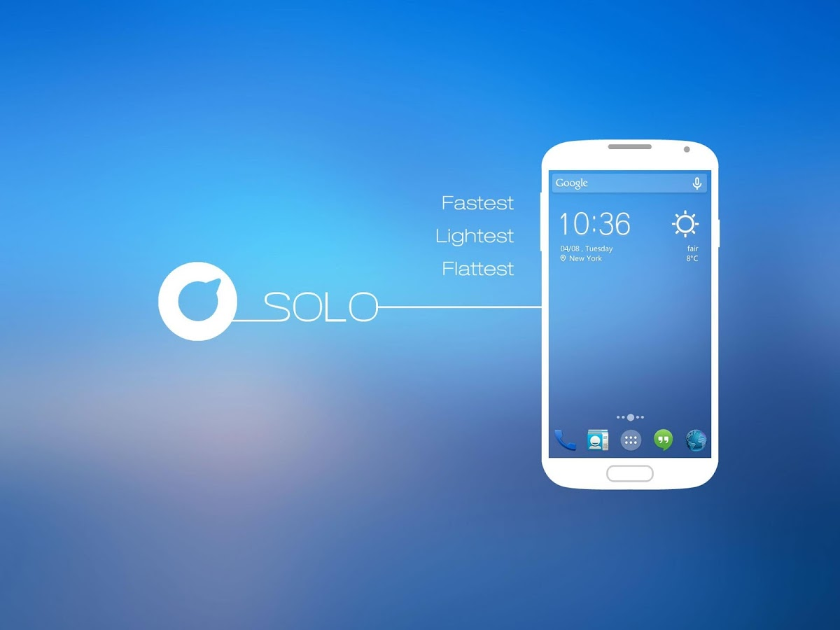 solo launcher for android