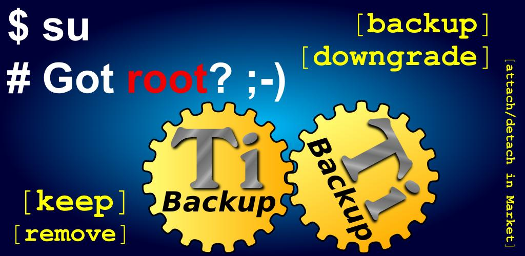 titanium backup app for android