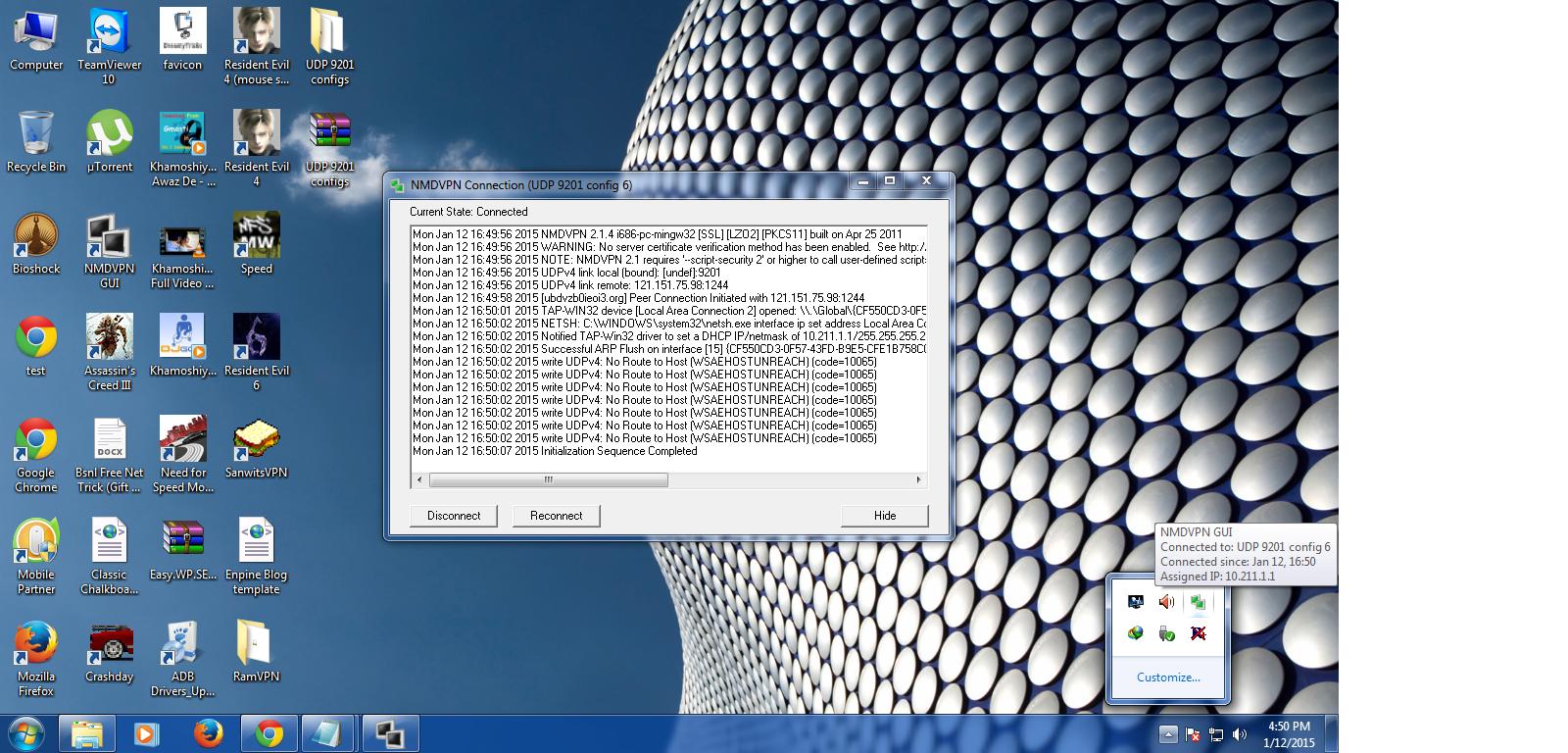 9201 udp protocol vpn files