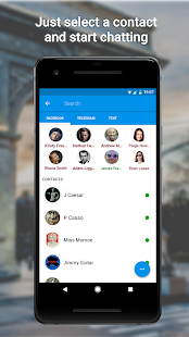 Disa (Unified Messenger Hub) Screenshot