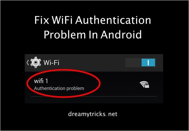 fix wifi authentication