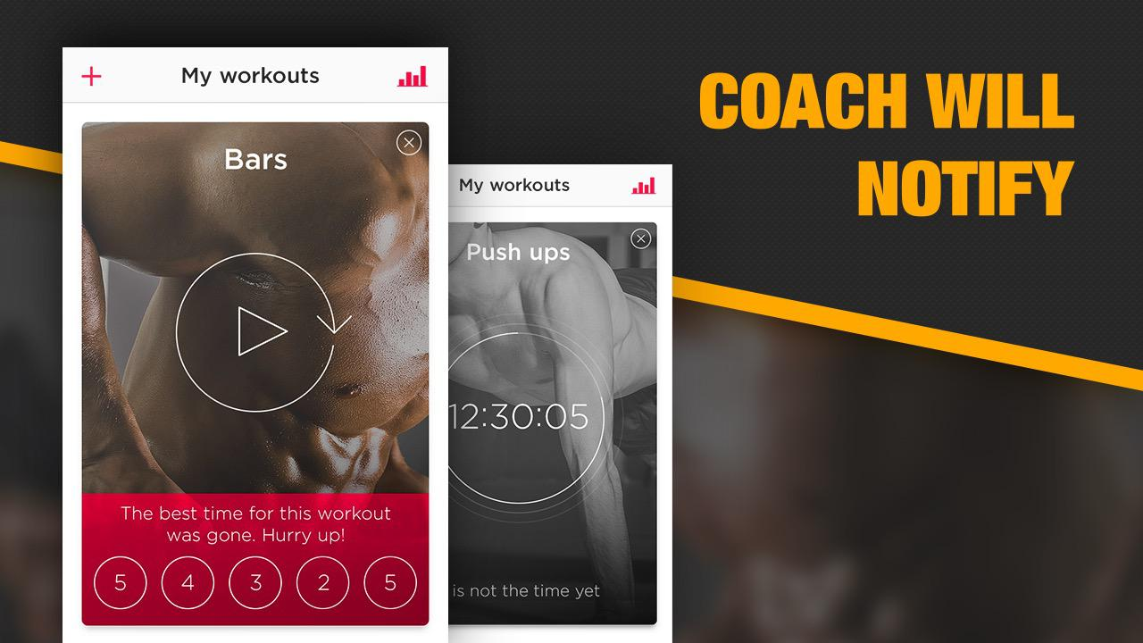 workout trainer android fitness app