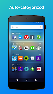 Yahoo Aviate Launcher Screenshot